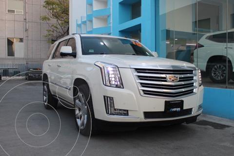 Cadillac Escalade Paq P 4x4 Platinum usado (2015) color Blanco precio $639,000