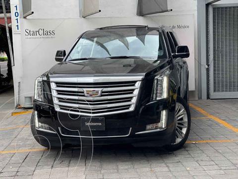 Cadillac Escalade Paq P 4x4 Platinum usado (2016) color Negro precio $790,000