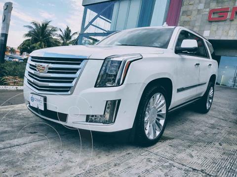 Cadillac Escalade 4x4 Platinum usado (2019) color Blanco precio $1,200,000