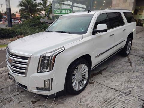 Cadillac Escalade Paq P 4x4 Platinum usado (2017) color Blanco precio $930,000