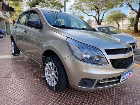 Chevrolet Agile LS usado (2012) color Beige financiado en cuotas(anticipo $560.000)
