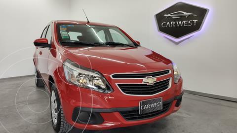 Chevrolet Agile LT usado (2013) color Rojo Lyra precio $890.000