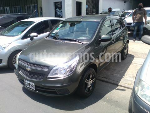 foto Chevrolet Agile LT usado (2011) color Verde Oscuro precio $590.000