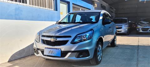 Chevrolet Agile LS usado (2016) color Gris Claro precio $999.000