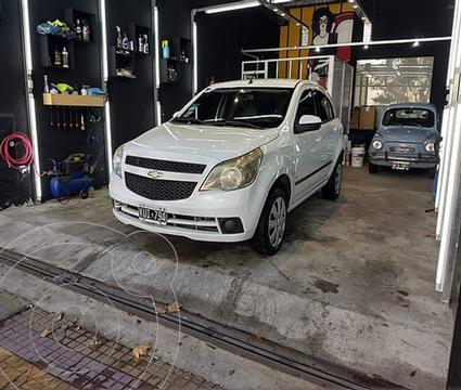 Chevrolet Agile LT usado (2012) color Blanco Mahler precio $750.000