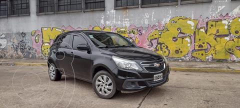 Chevrolet Agile LT usado (2014) color Negro precio $730.000