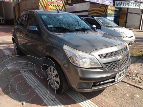 Chevrolet Agile LT usado (2010) color Gris financiado en cuotas(anticipo $510.000)