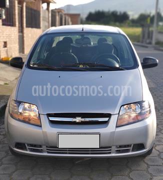 Chevrolet Aveo Family Taxi usado (2017) color Plata precio u$s10.500