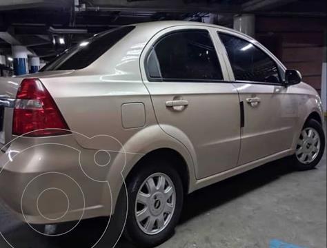 Chevrolet Aveo Sedan 1.6L Aut Ac usado (2012) color Bronce precio u$s5.700