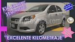 Foto venta Auto usado Chevrolet Aveo 4p LS L4/1.6 Aut (2014) color Plata precio $118,000