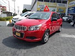 Foto venta Auto usado Chevrolet Aveo 4p LS L4/1.6 Aut (2015) color Rojo precio $135,000