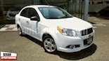 Foto venta Auto usado Chevrolet Aveo 4p LTZ L4/1.6 Man (2013) color Blanco precio $110,000