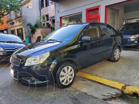 Chevrolet Aveo G3 LS 1.6N MT usado (2012) color Negro precio $790.000