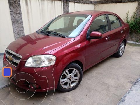 Chevrolet Aveo LT usado (2011) color Rojo precio $750.000