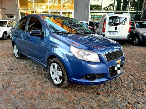 Chevrolet Aveo LS usado (2014) color Azul precio $860.000