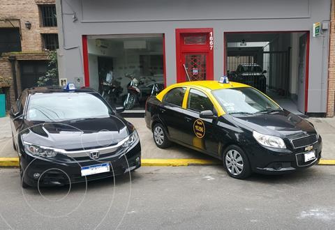 Chevrolet Aveo 4p Lt 1.6n M/t usado (2012) color Negro precio $590.000