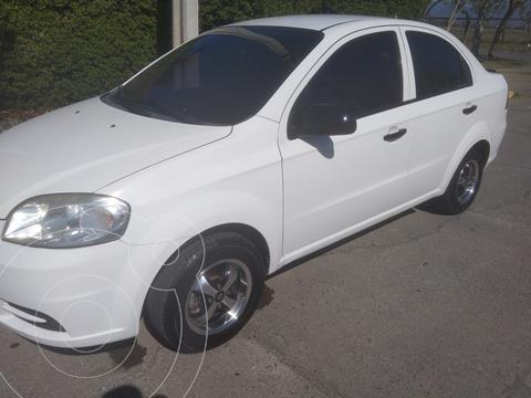 Chevrolet Aveo 1.4L  usado (2011) color Blanco precio $5.300.000