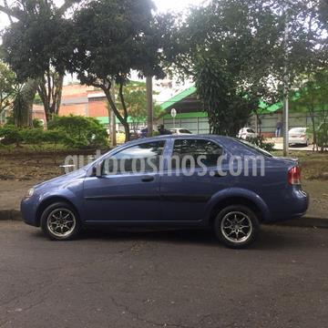 Chevrolet Aveo sedan 1.600 Aire usado (2007) color Azul precio $15.000.000