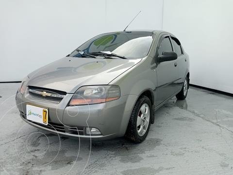 Chevrolet Aveo 1.6L Ac usado (2012) color Gris Opalo precio $24.990.000