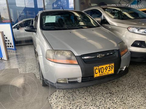 Chevrolet Aveo 1.4L Ac usado (2008) color Plata financiado en cuotas(anticipo $3.000.000 cuotas desde $404.000)