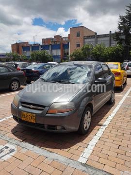 Chevrolet Aveo 1.6L Ac usado (2010) color Gris Opalo precio $18.200.000
