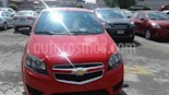 Foto venta Auto Seminuevo Chevrolet Aveo LS Aut (2017) color Rojo precio $158,000