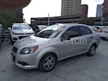 Foto venta Auto usado Chevrolet Aveo LS Aut (2013) color Plata precio $99,000