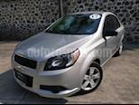Foto venta Auto Seminuevo Chevrolet Aveo LS Aut (2017) color Plata precio $145,000