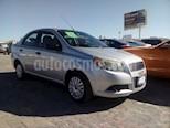 Foto venta Auto usado Chevrolet Aveo LS Aut (2017) color Plata precio $135,000