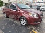 Foto venta Auto usado Chevrolet Aveo LS Aut (2017) color Rojo precio $145,000