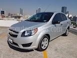 Foto venta Auto usado Chevrolet Aveo LS Aut color Plata precio $145,000