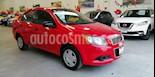 Foto venta Auto usado Chevrolet Aveo LS Aut (2015) color Rojo precio $130,000