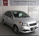 Foto venta Auto usado Chevrolet Aveo LS (2014) color Plata precio $95,000