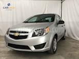 Foto venta Auto usado Chevrolet Aveo LS (2018) color Plata precio $127,800