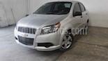 Foto venta Auto usado Chevrolet Aveo LS (2014) color Plata precio $107,000