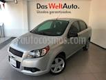 Foto venta Auto Seminuevo Chevrolet Aveo LT Aut (Nuevo) (2015) color Plata Brillante