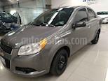Foto venta Auto usado Chevrolet Aveo LT Aut (2012) color Gris precio $94,000