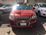 Foto venta Auto usado Chevrolet Aveo LT Aut color Rojo precio $129,000