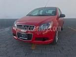 Foto venta Auto usado Chevrolet Aveo LT Aut color Rojo Victoria precio $110,000
