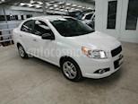 Foto venta Auto usado Chevrolet Aveo LT Aut (2015) color Blanco precio $140,000