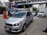 Foto venta Auto usado Chevrolet Aveo LT Plus (2016) color Plata precio $128,000