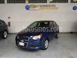 Foto venta Auto usado Chevrolet Aveo LT (2015) color Azul precio $119,000
