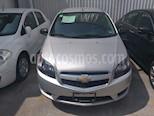Foto venta Auto usado Chevrolet Aveo LT color Plata precio $135,000