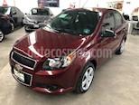 Foto venta Auto usado Chevrolet Aveo LT (2017) color Rojo Tinto precio $155,000