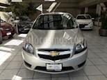 Foto venta Auto usado Chevrolet Aveo LT color Plata Brillante precio $177,000