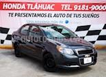 Foto venta Auto usado Chevrolet Aveo LT (2013) color Gris Oxford precio $110,000