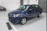 Foto venta Auto Seminuevo Chevrolet Aveo LT (2014) color Azul precio $112,000