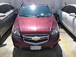 Foto venta Auto usado Chevrolet Aveo LTZ Aut (2017) color Rojo precio $125,000
