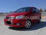 Foto venta Auto usado Chevrolet Aveo LTZ Aut color Rojo Victoria precio $135,000
