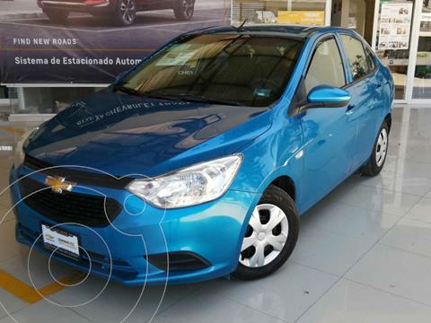 Chevrolet Aveo LS Aa usado (2018) color Azul precio $170,000